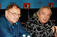 Алексей Прудников, Юрий Давыдов. Пресс-конференция