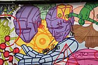 Граффити на территории центра современного искусст