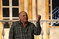 Сергей Газаров. Показ фрагмента спектакля «Ревизор