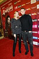 Владимир Яглыч с супругой. Мировая премьера балета