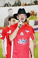 Михаил Боярский. Фестиваль «Арт-футбол» в честь 90