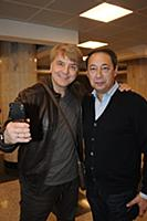 Сергей Пудовкин и Артур Цомая