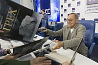 Пресс-конференция кинорежиссера Андрея Кончаловского