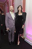 Владимир Маркони с супругой. Церемония вручения пр