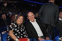 Владимир Познер с супругой. Государственный Кремле