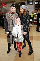 Катя Лель, Марина Ичетовкина с дочерью. Модный пок