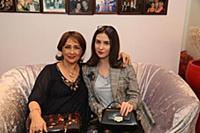 Зинаида Кириенко с внучкой Александрой. Юбилей акт