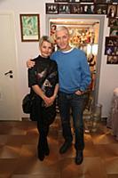 Сергей Варчук с супругой. Юбилей актера Александра