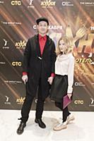 Никита Тарасов с супругой. Презентация комедийного