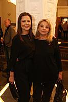 Елена Лядова с мамой. Премьера фильма «Тварь». Реж