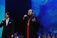 Архимандрит Гермоген, мужской хор «Пересвет» и анс