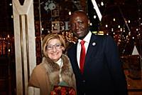 Беатрис Малахова, Bruno Ben Moubamba. Мероприятие
