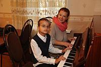 Татьяна Абрамова с сыном.
