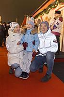 Праздничное открытие ГУМ-Катка на Красной площади.
