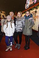 Антон Табаков с семьей. Праздничное открытие ГУМ-К