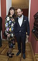 Нонна Гришаева с супругом. Церемония вручения прем