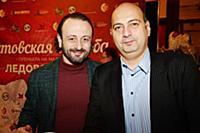 Илья Авербух, Константин Ишханов. Пре-пати, посвящ