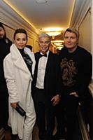 Марина Газманова, Олег Газманов, Николай Басков. Ц