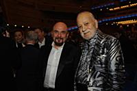 Сергей Трофимов и Бедрос Киркоров. Церемония вруче