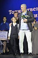 Владимир Потапов с внуком. Премия за доброту в иск