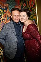 Наталья Толстая с супругом. VI Всероссийский конку