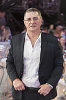 Александр Мясников. Съемки программы «Голубой огон