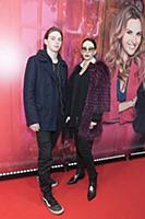 Алика Смехова с сыном. Премьера фильма «Полицейски