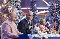 Юрий Гальцев, Николай Валуев, Николай Басков. Съем