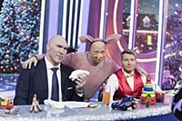 Николай Валуев, Юрий Гальцев, Николай Басков. Съем
