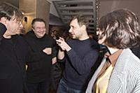 Валерий Тодоровский, Алексей Учитель, Евгений Цыга