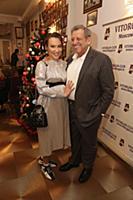 Борис Грачевский с женой Екатериной. Празднование