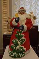 Дед Мороз. Выставка Дедов Морозов из коллекции Зас