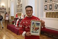 Александр Олешко. Выставка Дедов Морозов из коллек