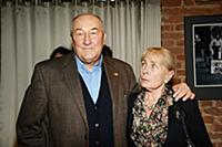 Борис Клюев с супругой. Праздничный концерт-капуст