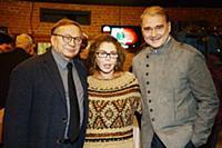 Игорь Угольников с супругой, Александр Жигалкин. П