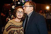 Игорь Угольников с супругой. Праздничный концерт-к