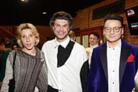 Юлия Рутберг, Николай Цискаридзе, Александр Олешко