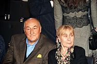 Борис Клюев с супругой Викторией. Праздничный конц
