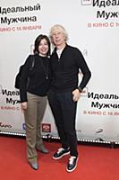 Аркадий Укупник с супругой. Премьера фильма «(НЕ)