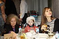 Мария Чернова с сыном. Вручение премии «Лучшие из