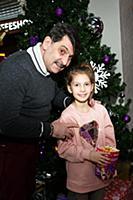 Владимир Вишневский с дочерью Владой. Благотворите