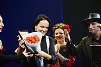 Дарья Федорова, Дмитрий Карташов. Церемония вручен