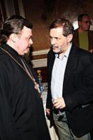 Священник Русской православной церкви Всеволод Чап