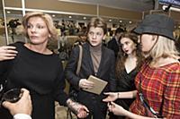 Анна Ардова с семьей. Церемония вручения Националь