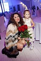 Татьяна Лихачева с дочкой. Вечеринка Disco Funk Pa