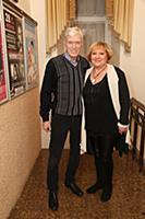 Борис Щербаков с супругой Татьяной. Юбилейный вече
