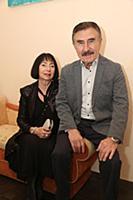 Леонид Каневский с супругой Анной. Юбилейный вечер