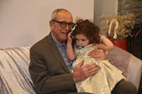 Эммануил Виторган с дочерью. Юбилейный вечер Народ