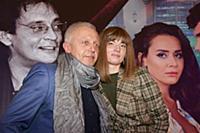 Олег Еремин, Анна Ефимова. Премьера фильма «Кензел