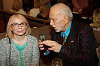 Бедрос Киркоров с супругой. Премьера фильма «Кензе